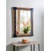 This item: Kestrel Reclaimed Wood and Matte Black Wall Mirror
