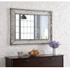 This item: Grover Weathered Brown 30-Inch Wall Mirror