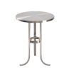 This item: Levant Brushed Steel End Table