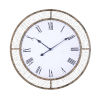 This item: Grover Weathered Brown Wall Mounted Clock