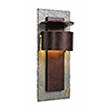 This item: Pembrook Natural Slate with Copper One-Light Extra Large Wall Lantern