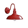This item: Dale Matte Red 14-Inch One-Light Outdoor Wall Mount