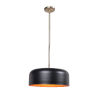 This item: Porter Antique Brass, Matte black and gold Two-Light Pendant