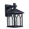 This item: Canterbury Black One-Light Outdoor Wall Lantern
