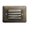 This item: Centennial Brass 2700K LED Louvered Step Light