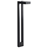 This item: Textured Black 22-inch One-Light Outdoor Path Light