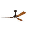 This item: Kosmus Satin Natural Bronze 52-Inch LED Ceiling Fan