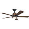 This item: 52 Inch Colerne Fan in Distressed Black