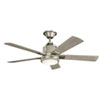 This item: 52 Inch Colerne Fan in Brushed Nickel
