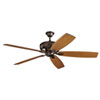 This item: Monarch Oil Brushed Bronze Ceiling Fan