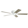 This item: Basics Pro Legacy White 52-Inch Ceiling Fan