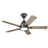 This item: Arvada Anvil Iron 44-Inch LED Ceiling Fan