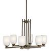 This item: Eileen Olde Bronze Six-Light Energy Star LED Chandelier