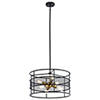 This item: Piston Black Six-Light Chandelier