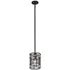 This item: Piston Black One-Light Mini Pendant
