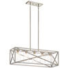 This item: Moorgate Distressed Antique White Five-Light Chandelier
