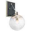 This item: Marilyn 1-Light Wall Sconce in Polished Nickel