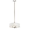 This item: Kinsey Polished Nickel Three-Light Pendant