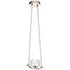 This item: Lasus Polished Nickel LED Pendant