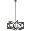 This item: Alscar Driftwood Gray Five-Light Mini Chandelier