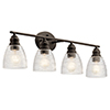 This item: Karmarie Old Bronze Four-Light Wall Sconce