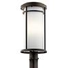 This item: Toman Olde Bronze One-Light Energy Star LED Post Mount