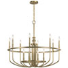 This item: Capitol Hill Classic Bronze 12-Light Chandelier