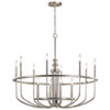 This item: Capitol Hill Brushed Nickel 12-Light Chandelier