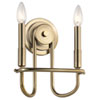 This item: Capitol Hill Classic Bronze Two-Light Wall Sconce
