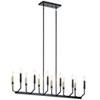This item: Armand Black 12-Light Chandelier