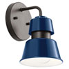 This item: Lozano Catalina Blue Eight-Inch One-Light Outdoor Wall Sconce