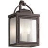 This item: Carlson Rubbed Bronze 15-Inch Two-Light Outdoor Wall Sconce