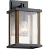 This item: Marimount Black 11-Inch One-Light Outdoor Wall Sconce
