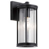 This item: Barras Black 12-Inch One-Light Outdoor Wall Sconce