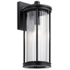 This item: Barras Black 16-Inch One-Light Outdoor Wall Sconce