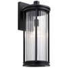 This item: Barras Black 20-Inch One-Light Outdoor Wall Sconce