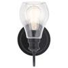 This item: Elias Textured Black 11-Inch LED Outdoor Pendant