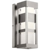 This item: Ryler Brushed Aluminum Five-Inch LED Outdoor Wall Sconce
