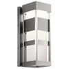 This item: Ryler Brushed Aluminum Seven-Inch LED Outdoor Wall Sconce