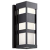 This item: Ryler Black Seven-Inch LED Outdoor Wall Sconce