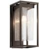 This item: Mercer Olde Bronze Nine-Inch One-Light Outdoor Wall Mount
