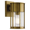 This item: Camillo Natural Brass One-Light Outdoor Wall Mount