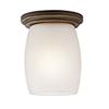 This item: Eileen Olde Bronze One-Light Energy Star LED Flush Mount