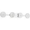 This item: Delaine Chrome 42-Inch Four-Light LED Bath Vanity