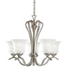 This item: Wedgeport Brushed Nickel Five-Light Chandelier