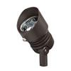 This item: Bronzed Brass Line Voltage 3000 Kelvin Five-Light LED Flood Landscape Light
