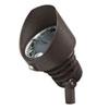 This item: Bronzed Brass Line Voltage 3000 Kelvin Eight-Light LED Spot Landscape Light