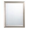 This item: Brushed Nickel Rectangular Mirror