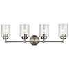 This item: Winslow Brushed Nickel 30-Inch Four-Light Bath Light