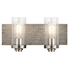 This item: Dalwood Classic Pewter 16-Inch Two-Light Bath Light